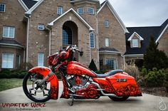 Harley-Davidson : Touring 2012 Harley Street Glide Custom Built by Joey Beam's Vindictive Wayz, Road Glide