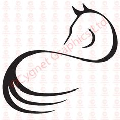 Google Image Result for http://www.cygnetgraphics.com/vector-line-art-logos/special-horse-logos/horse-looking-back-twist-logo.jpg