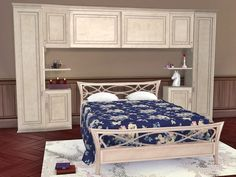 The Sims Resource: Bedroom Bella by  Flovv • Sims 4 Downloads
