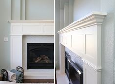 ut, if you were doing this first, it would work the same way. If you're just adding onto a fireplace base that was already there, you don't...