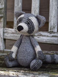 Crochet Racoon