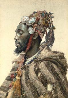 Moor In A Headdress By José Tapiró Y Baró Afrikkalainen Taide, Muotokuvamaalaukset, Kuvittajat, Vesiväritekniikat, Afrikka, Vanhanajan Valokuvat, Marokko