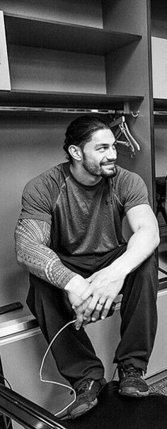 'I breathe wrestling. It's in my blood. I have kind of a confidence when I walk into the ring because I know I'm good. just another WWE Preferenc. Roman Reigns Tattoo, Wwe Roman Reigns, Roman Regins, Wwe Superstar Roman Reigns, The Shield Wwe, Bae, My Superman, Wwe World, Wwe Wrestlers