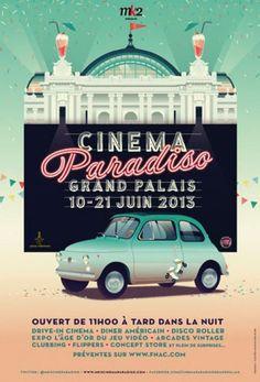 Cinema Paradiso Grand Palais Drive-In, Paris