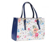 geanta pretta imprimeu floral - genti dama Tote Bag, Floral, Bags, Fashion, Handbags, Moda, Fashion Styles, Tote Bags, Flowers