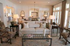 neutral designer living room