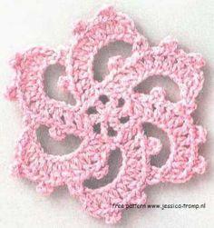 09 bloemen haken patronen gratis haakpatronen free crochet flower patterns crocheted flowers