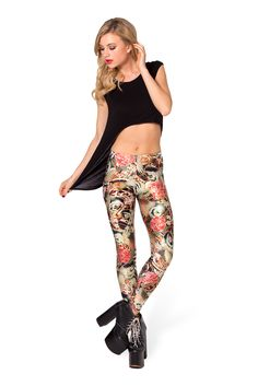 Koi Leggings by Black Milk Clothing $75AUD