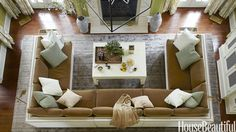 living room U couch Decor, Family Room Design, Family Room, Home And Living, Eclectic Furniture, Room Layout, Design A Space, Home Decor, Room Design