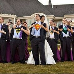 geek superhero wedding
