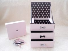 DIY: Glossybox Drawers