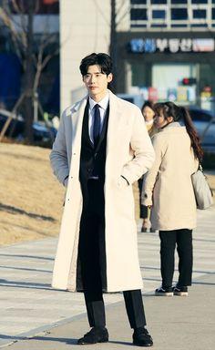 Lee Jong Suk - While you were sleeping Still cut Cr. Lee Jong Suk Cute, Lee Jung Suk, Asian Actors, Korean Actors, Korean Dramas, Lee Jong Suk Wallpaper, Mode Man, W Two Worlds, Korea Boy