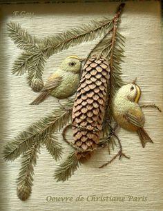 Frédérique Chiloup-Gey - Artiste textile: Deux Coup de Coeur
