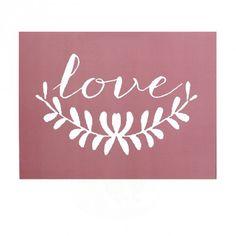 Affiche Love blush Cinqmai