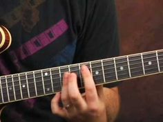 Guitar lesson licks and inversions ala Jimi Hendrix Hey Joe - YouTube