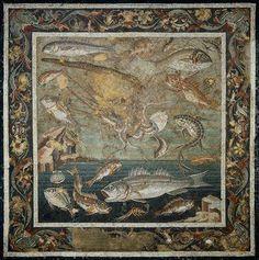 Marine Fauna | Roman copy of Hellenistic original | Museo nazionale di Napoli | Image and original data provided by SCALA.