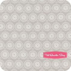 Willow Gray Medallions Yardage SKU# C3073-GRAY