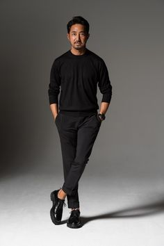men casual looks great . Outfits Hombre, Sport Outfits, Casual Outfits, Men Casual, Older Mens Fashion, Gq Fashion, Fashion Trends, Style Masculin, Herren Outfit