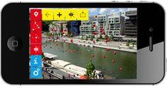 Bureau 205 MyConfluence - pour la SPL Lyon Confluence Application mobile pour découvrir le quartier de La Confluence : 120 repères détaillés, parcours thématiques, localisation GPS, réalité augmentée, maquettes 3D.