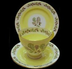 Royal Albert China - Special Collections - Smooth Shape #2 Teacups and Saucers- Merrie England