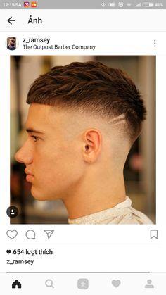 47 Ideas For Haircut For Men Fade Mohawks Short Fade Haircut, Crop Haircut, Short Hair Cuts, Hair And Beard Styles, Curly Hair Styles, Gents Hair Style, Faded Hair, Curly Hair Men, Haircuts For Men