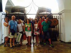 24.06.15 Para celebrar el día festivo de San Juan, hemos tenido en nuestras puertas abiertas la visita de estos amigos procedentes de: Sevilla, Almeria, Madrid y Londres. Han disfrutado mucho de nuestra visita y como no, de nuestro Palito de ron! :)