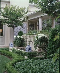Decorating with Blue and White Outdoors - ginafjaber@gmail.com - Gmail