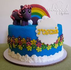 My Little Pony cake for Rosemie's 10th birthday #whippedbydiane