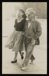 Jacob Epstein and Kathleen Garman 1952