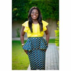 Ankara prints create forever chic styles needless to say they have come to stay! They make statements in skirts paired effortlessly with flattering tops. Check out our amazing collection of Ankara skirts and different ways to style them. You can pair them with almost any top or shirt of your choice...