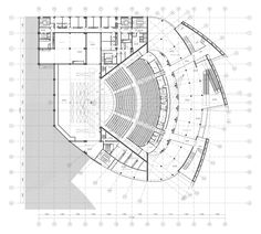 A simple bow Concert Hall Architecture, Auditorium Architecture, Theatre Architecture, Sacred Architecture, Concept Architecture, Architecture Design, Auditorium Plan, Auditorium Design, Theater Plan