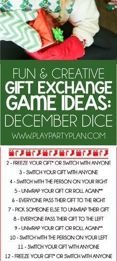 Creative gift exchange ideas for christmas