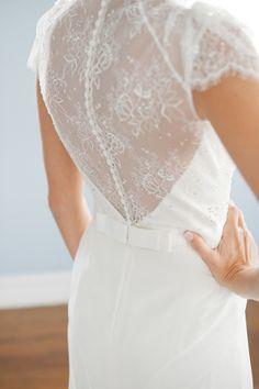 Wedding dress back styles we love: http://www.stylemepretty.com/2014/07/22/wedding-dress-back-styles-we-love/   Photography: http://emthegem.com/