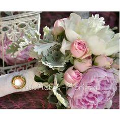 Bouquet Noiva peonias