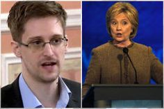 """Hillary just terrified everyone"": Edward Snowden slams Clinton's hawkish foreign policy in third debate"