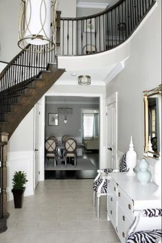 Nearly identical to my house finishes and colours... must be sure not to let it feel too 'cool'