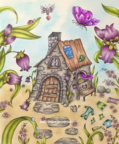 Magical delights by Klara Markova Colored by Julie's passion for coloring