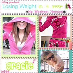 """""""Losing Weight in a Week *No Workout*"""" by totally-tipsy-girls ❤ liked on Polyvore"""