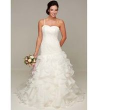 Exklusiv brudklänning