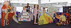 Lubaina Himid - Fashionable Marriage installation, Tate Liverpool