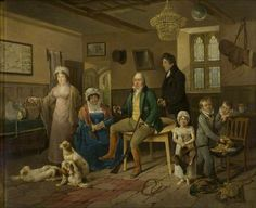 Mr Ricketts' Return from Shooting by Edward Bird. Date painted: c.1816