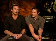 sean patrick flanery and norman reedus | Sean Patrick Flanery and Norman Reedus talk Boondock Saints 2 - Movie ...