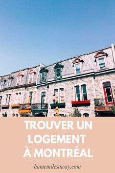 Des conseils, notre expérience et plus d'informations sur la recherche de logement à Montréal. Canada Toronto, Pvt Canada, Quebec Montreal, Cas, Trips, Road Trip, France, Poster, Photography