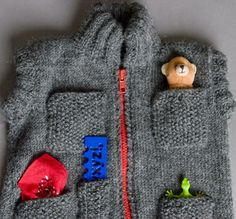 Awesome Zipped Vest/Gilet on Ravelry - love all the pocketses!