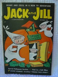 Jack and Jill Magazine October 1962