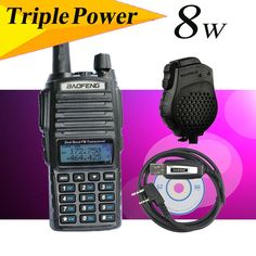 Portable Radio UV-82HX walky talky professional Dual Band Baofeng 82 GT-3 VHF UHF 136-174/400-520MHz Ham Radio Transceiver UV-5R