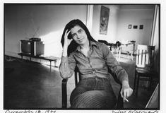 Susan Sontag. Photo by Jill Krementz. November 18, 1974.