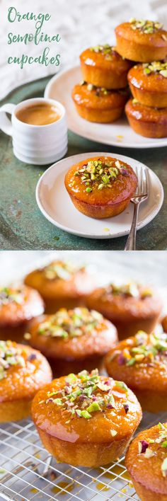 orange semolina cupcakes                                                                                                                                                      More