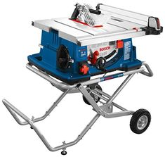 Bosch 10 in. Worksite Table Saw with Gravity-Rise Stand - Bosch 10 in. Worksite Table Saw with Gravity-Rise Stand Bosch 10 in. Worksite Table Saw with Gravit - Table Saw Workbench, Table Saw Jigs, Diy Table Saw, A Table, Wood Table, Table Saw Fence, Table Saw Stand, Jet Woodworking Tools, Easy Woodworking Projects