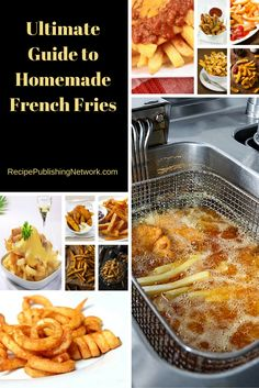 Making your own fries will save you money and they also have a fantastic flavor and texture. Once you have tasted them you will never buy frozen fries again. Your family will be really impressed too and they are sure to notice the difference.